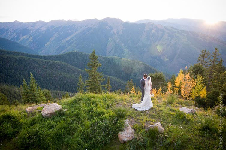 Aspen Mountain Fall Wedding gallery 1