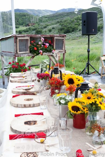 Aspen Ranch Rehearsal Dinner gallery 3